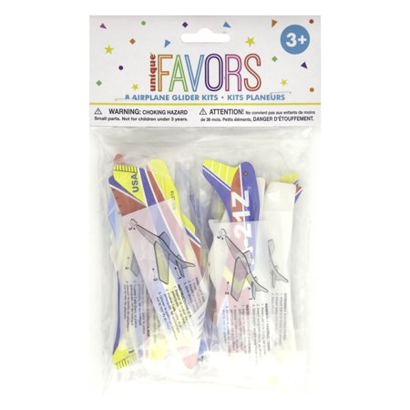 Airplane Glider Kit Party Favors, Assorted,