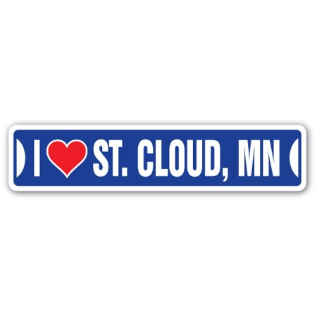 I LOVE ST. CLOUD, MINNESOTA Street Sign mn city state us wall road décor gift](Party City St Cloud)