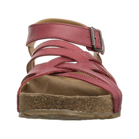 Haflinger Womens Bio Emma Open Toe Casual Slingback Sandals