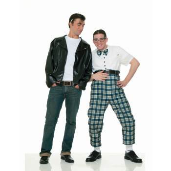 CO-GREASER JACKET-PLUS SIZE (Greasers Costumes)