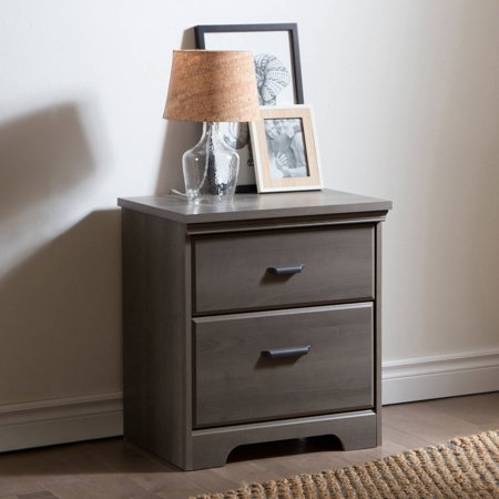 South shore versa 5 drawer chest and 2 nightstands set for Multi night stand