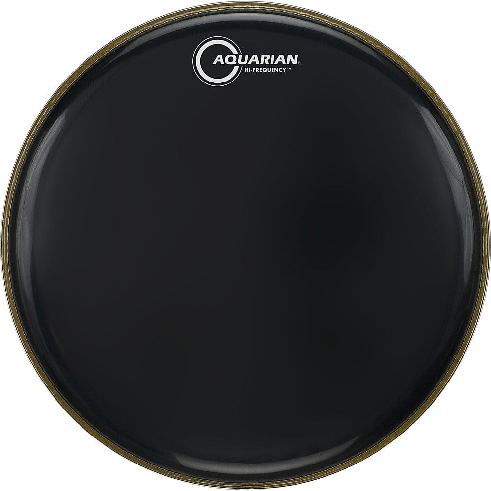 Aquarian Hi-Frequency Drumhead Black Black 13 in. by Aquarian