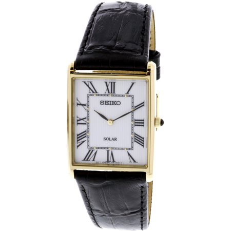 SUP880 Gold Leather Japanese Quartz Fashion Watch ()
