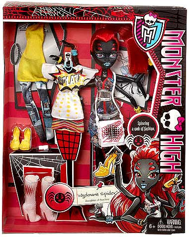 "Monster High I Love Fashion Wydowna Spider 10.5"" Doll by Monster High"