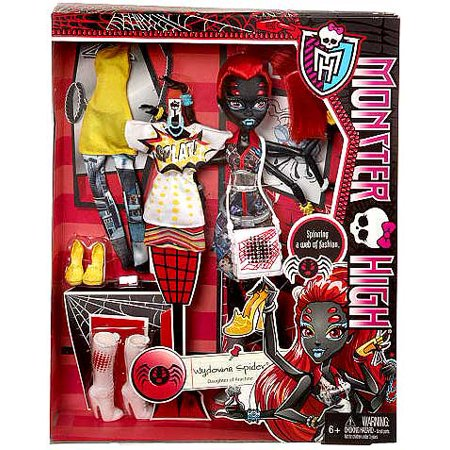 Monster High I Love Fashion Wydowna Spider 10.5