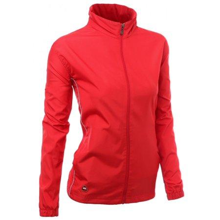 81fa0f2b48f90 FashionOutfit - FashionOutfit Women s Functional All Weatherproof Outdoor  Windbreaker Jacket - Walmart.com