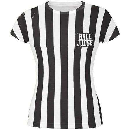 Halloween Deflategate Ball Referee Costume All Over Juniors T-Shirt