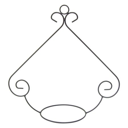 Border Concepts Scroll Hoop Hanging Plant Stand