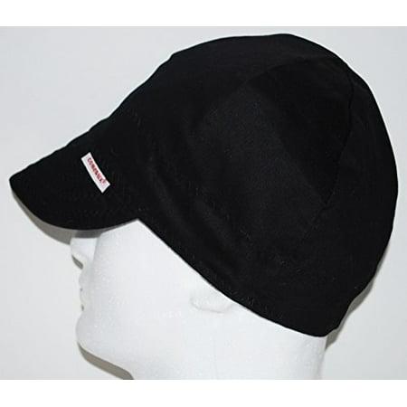 Comeaux Caps 1000-b-7-5/8 Cc 1000-7-5/8 Solid Black Cap](Cousin Eddie Hat)