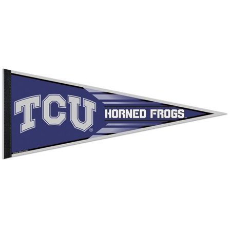 TCU Horned Frogs Official NCAA 12 inch x 30 inch  Felt Pennant by - Tcu Parties