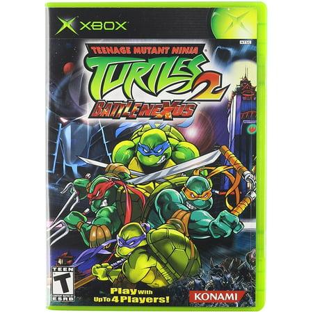 Teenage Mutant Ninja Turtles 2 Battle Nexus - Xbox, ESRB Rating: Teen By  Konami From USA