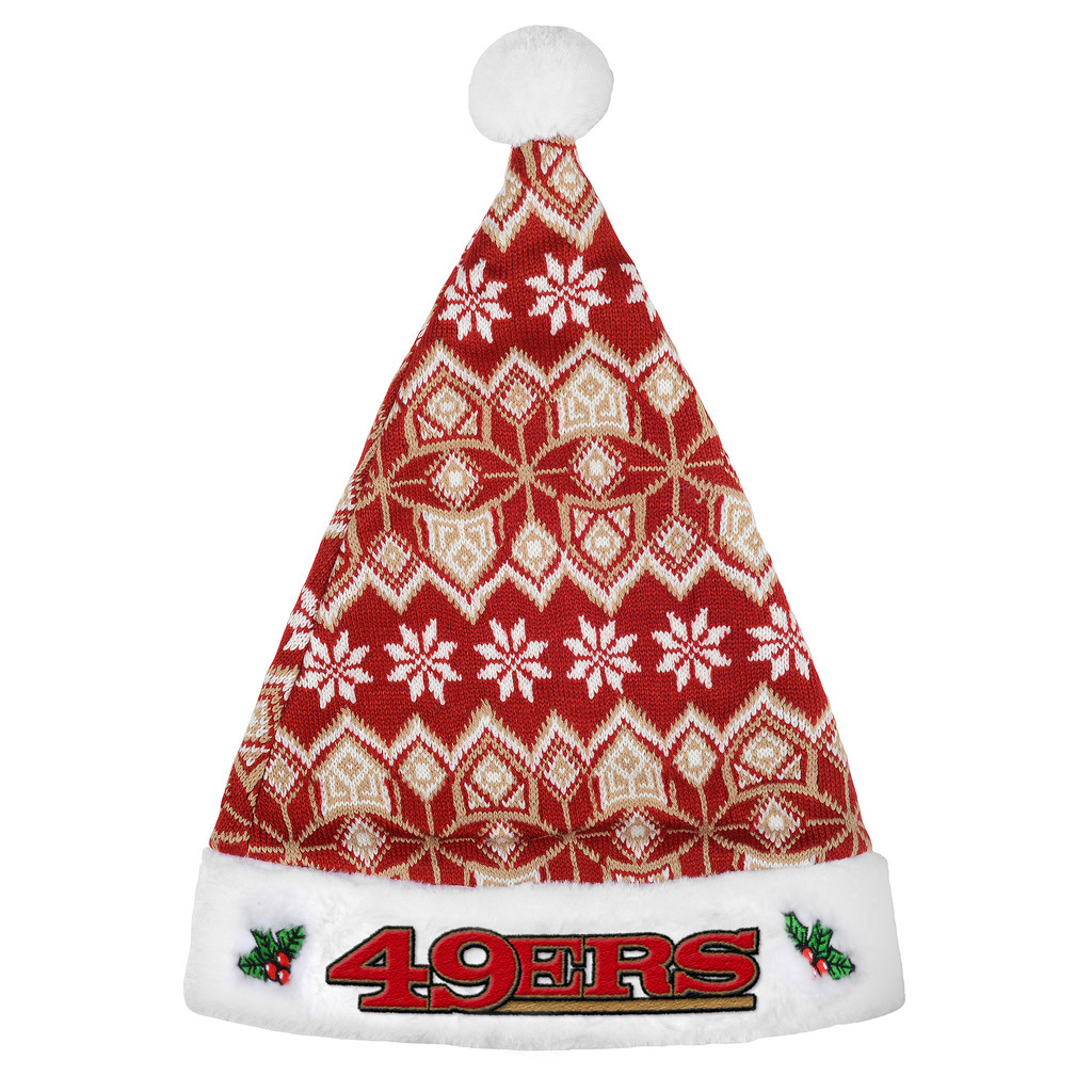 San Francisco 49ers 2015 Knit Santa Hat by Forever Collectibles