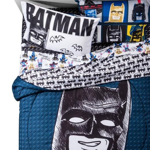 The LEGO Batman Movie Sketchy Twin Comforter and Sheet Set - Walmart.com
