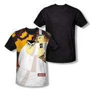 Samurai Jack Men's  Eternal Foes Sublimation T-shirt White