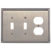BRASS Accents Georgian Outlet Plate
