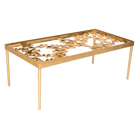Gold Antique Coffee Table - Safavieh Otto 48