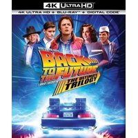 Back to the Future: The Ultimate Trilogy (4K Ultra HD + Blu-ray + Digital Copy)
