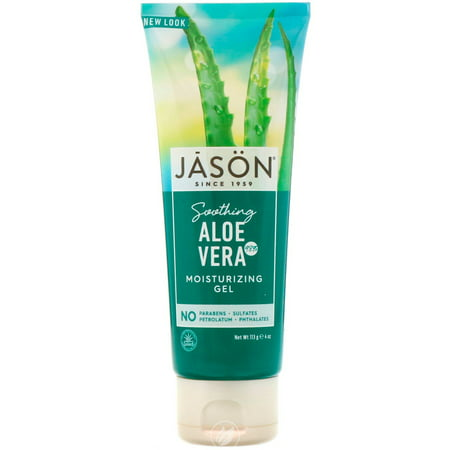 Jason Natural Products Aloe Vera Super Gel 98% Tube 4 Ounce, Pack of