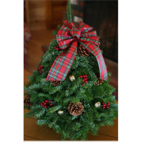 Worcester Wreath Inc. Highland Tabletop Tree