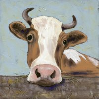 Bessy Cow Country Farmhouse Animal Art Print Wall Art By Jade Reynolds