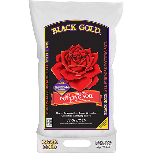 Black Gold 1410102 16 QT U 16 Quart All Purpose Potting Soil With