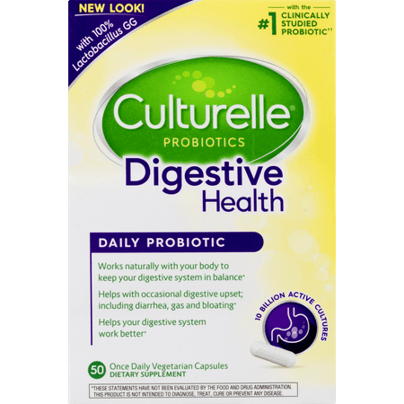 Culturelle Digestive Health Daily Probiotic, 50 Ct.