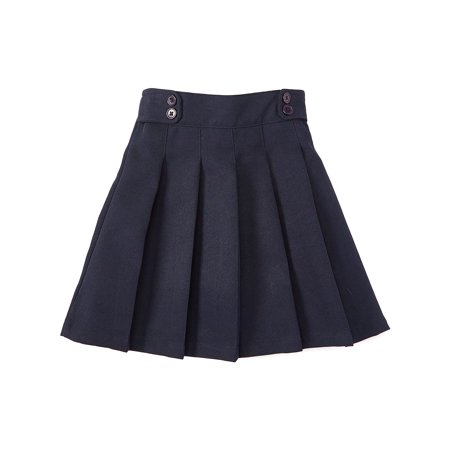 Unik Girl Uniform Skirt with Built in Shorts, Navy Size 8