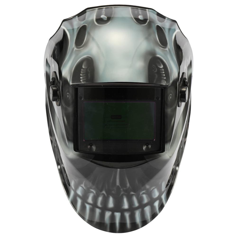 Solar Energy Automatic Changing Light Welding Mask Cap TIG GMAW Welding Helmet with Large Window and 4pcs Arc Sensors