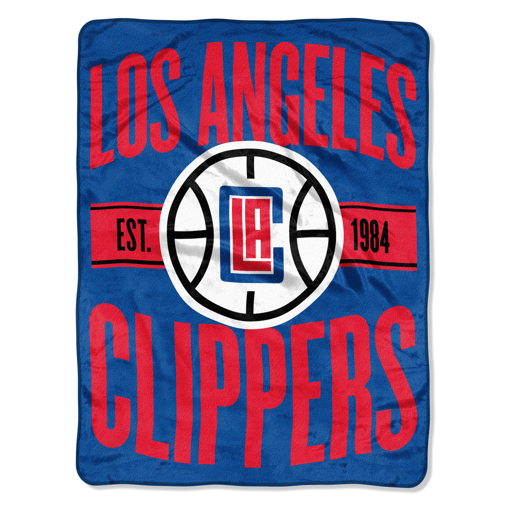 "NBA Los Angeles Clippers ""Clear Out"" 46""x 60"" Micro Raschel Throw"