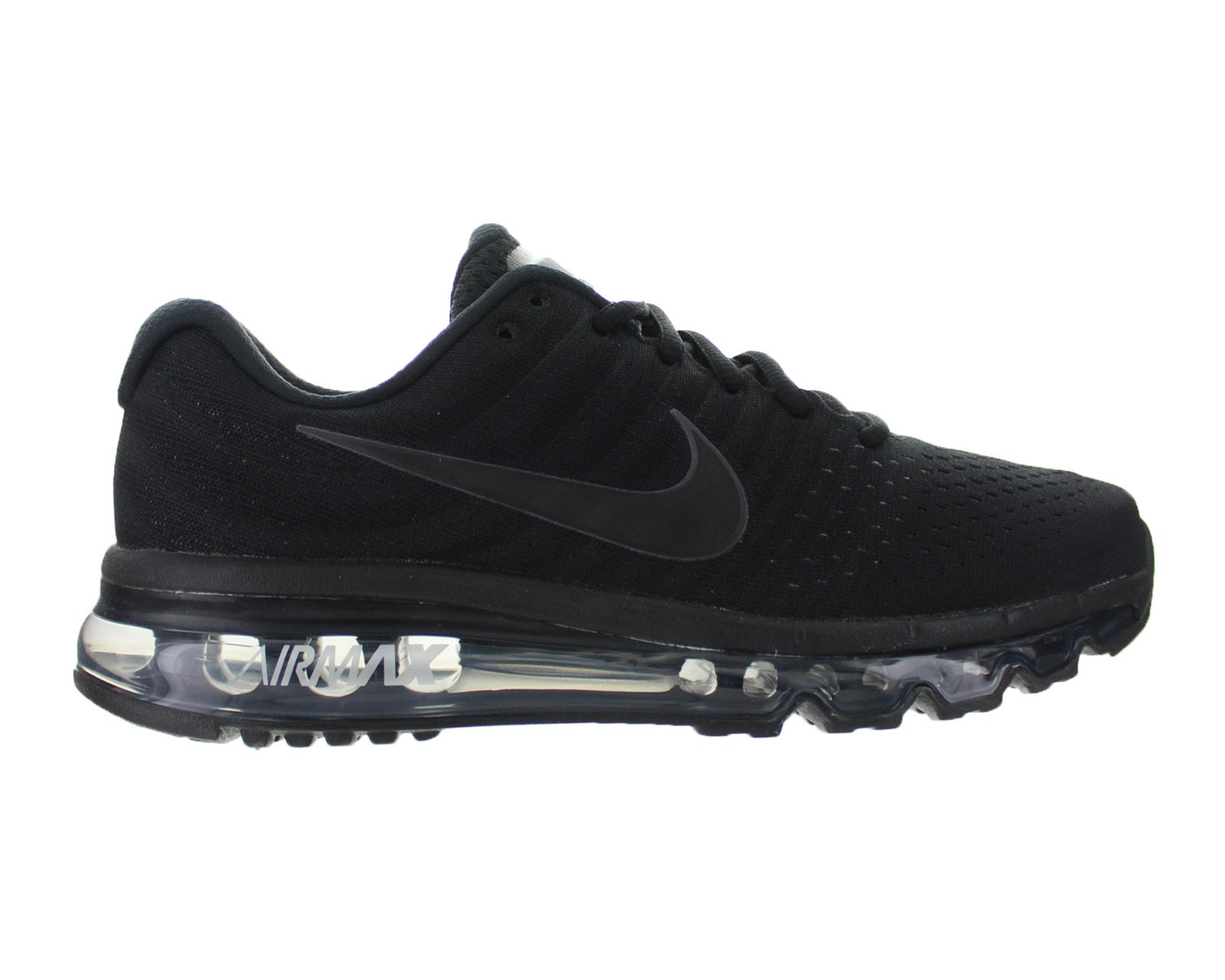 on sale 1a813 0a4d3 Nike - Kids Nike Air Max 2017 GS Triple Black 851622-004 ...