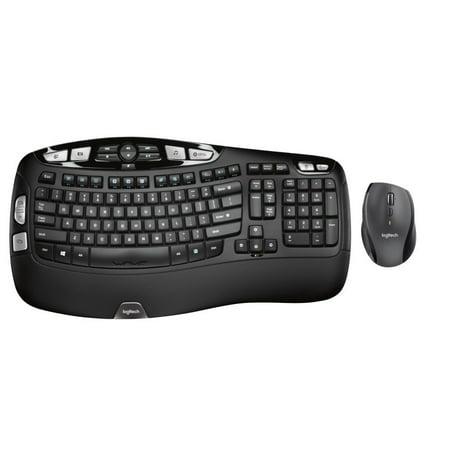 Logitech Comfort Wireless Combo Keyboard and
