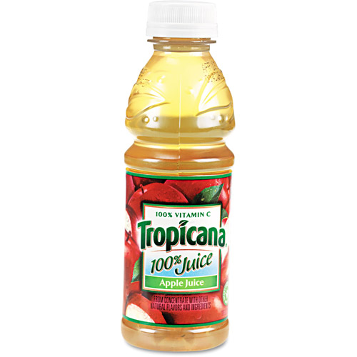 Tropicana 100% Apple Juice, 24ct