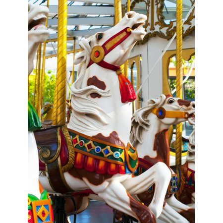 Carousel Horses at Yerba Buena Center for the Arts Print Wall Art By Sabrina Dalbesio](Carousel Horses For Sale)