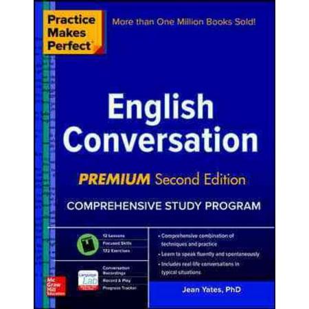 Practice Makes Perfect English Conversation, Jean Yates Paperback