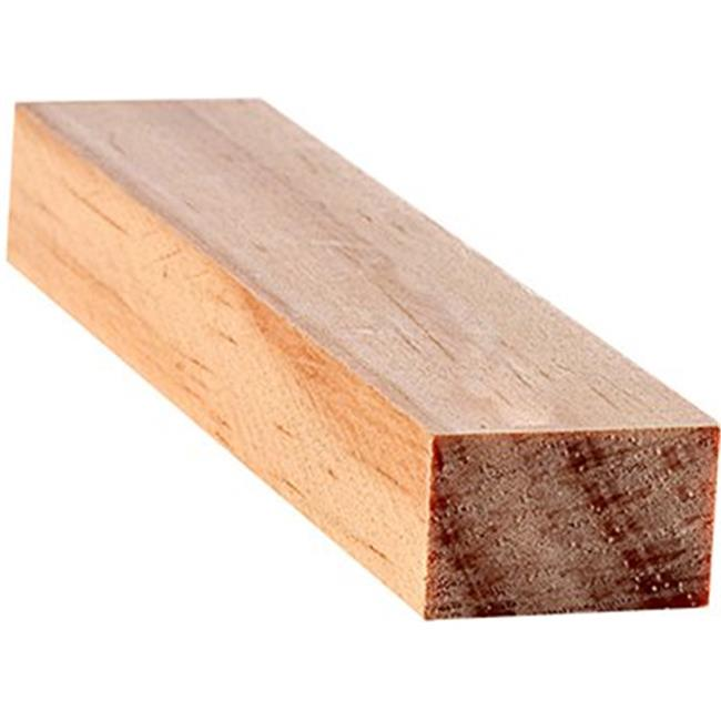 Craftwood 254-S Parting Bead Moulding, Natural - 0.5 x 0.69 in. x 8 ft. - Pack of 18
