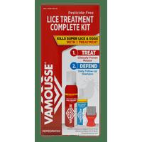 Vamousse Lice Treatment Complete Kit