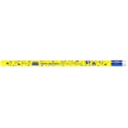 Principals Award Pencils - Moon Products Fun & Happy Birthday From Your Principal Award Pencil With Erasers, Pack 12