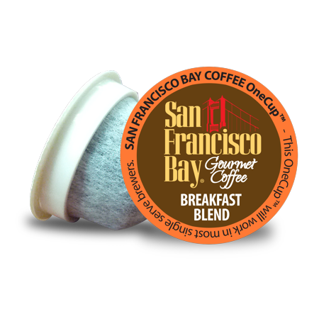 San Francisco Bay OneCup Coffee Pods, Breakfast Blend, 36 Count