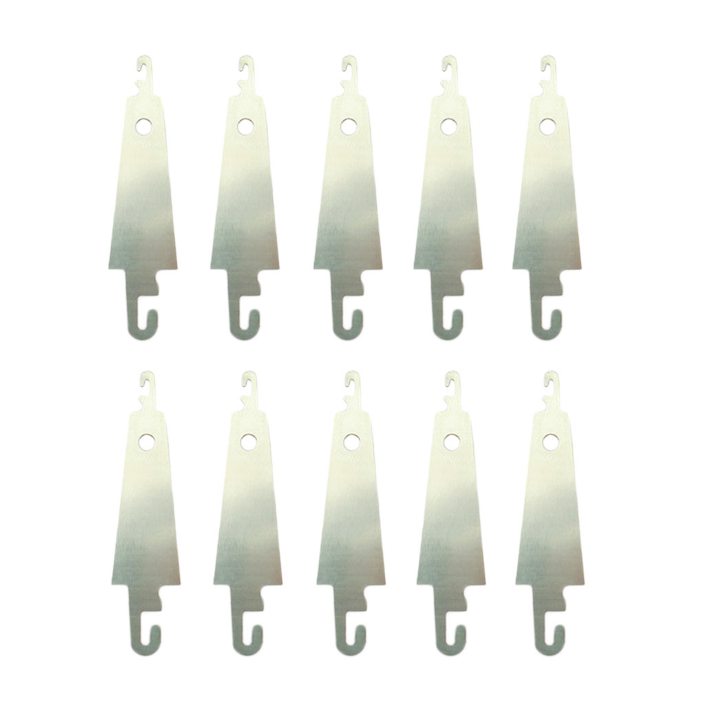50Pcs Stainless Steel Sewing Needle Threaders Cross Stitch Needle-Threading Tools Needle Threader for DIY Sewing Large Eye Needles 5cm