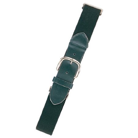 Champion Sports Adult Baseball/Softball Uniform Belt- Dark Green