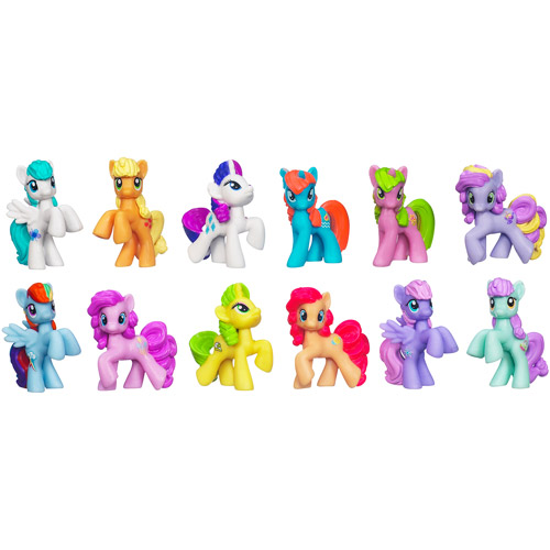 My Little Pony Friendship is Magic Pony Power Collection Play Set