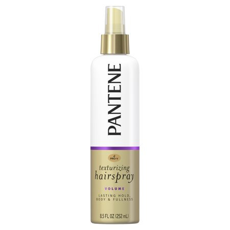 Pantene Pro-V Volume Lasting Hold, Body & Softness Texturizing Non-Aerosol Hairspray, 8.5 fl (Best Hairspray For Long Lasting Curls)