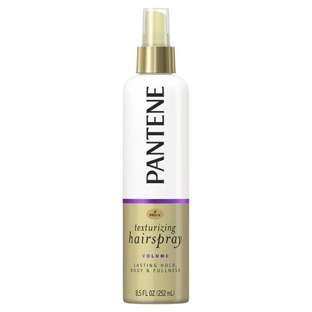 - Pantene Pro-V Volume Lasting Hold, Body & Softness Texturizing Non-Aerosol Hairspray, 8.5 fl oz