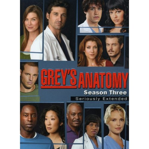 GREYS ANATOMY-3RD SEASON (SERIOUSLY EXTENDED) (DVD/7 DISC)
