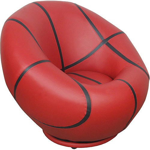 Kids Basketball Swivel Chair