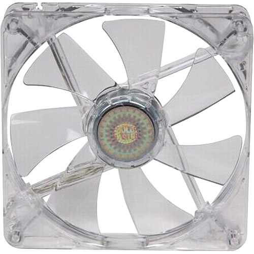 Cooler Master Silent 140mm LED Fan, Blue