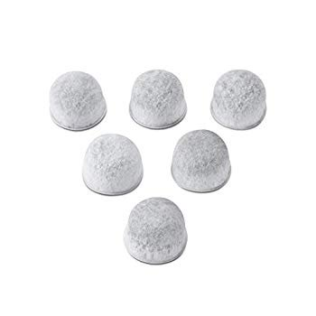 6 Replacement Charcoal Water Filters for Capresso Coffee Maker #4440.90
