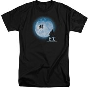 ET Moon Scene Mens Big and Tall Shirt