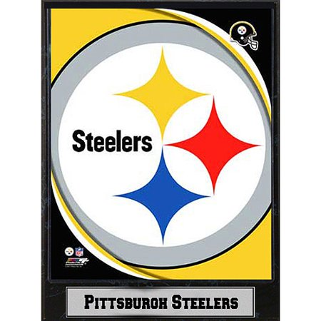NFL Pittsburgh Steelers Photo Plaque, 9x12