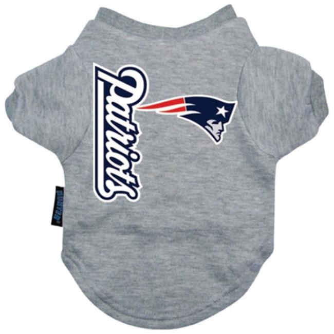 DoggieNation New England Patriots Dog Tee Shirt